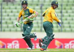 Cricket: South Africa bat against Bangladesh in 1st T20