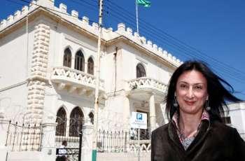 EU 'horrified' by car bomb murder of Malta journalist