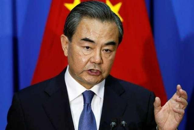 د چین په سمندري حدودو كښې د اجازې نه غېر د امريكې د داخلېدو غندنه كوو۔ چین