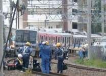 کانگو، مال بردار ٹرین انا اسہ درزن نا کچ بوگیک پٹڑی آن شیف دڑنگار، 34بندغ تپاخت و80 نا خڑک ٹھپی مسر