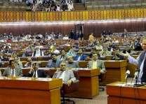 قومی اسمبلی اجلاس: نااہل بندے نوں پارٹی صدارت توں ہٹان لئی پیش کیتے گئے بل اُتے رائے شماری دوران 50حکومتی ارکان غیر حاضر