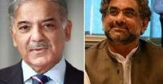 لندن: وزیر اعظم شاہد خاقان عباسی تے شہباز شریف وچکار اہم ملاقات