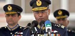 رئيس أركان القوات الجوية الباكستانية يلتقي نظيره البريطاني