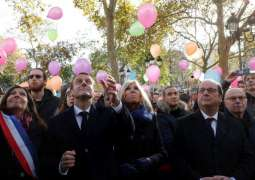 France mourns Paris attack victims, two years on