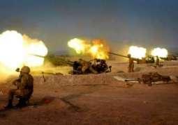 پاک فوج ولوں افغانستان وچ دہشت گرداں دے ٹھکانیاں نوں نشانہ بنائے جان دی اطلاع