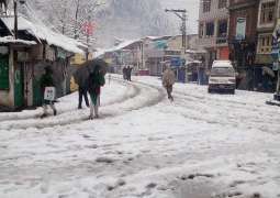 Chilliness grips upper KP as temperature dropped to -4degree centigrade in Kalam