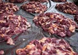 100 kg rotten meat seized