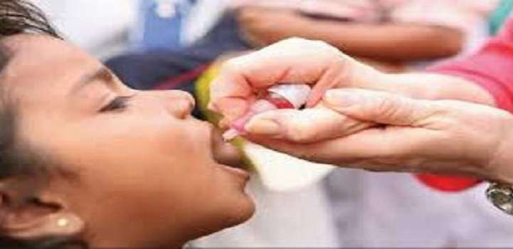 3-day polio vaccine drive on Monday