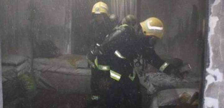 مکہ مکرمہ دے ہوٹل اچ بھاہ لگ گی ہک بندہ زخمی ، 520 کو ںبچا گھدا گیا
