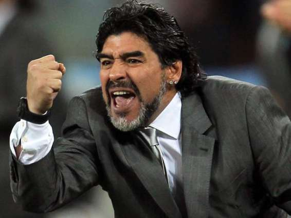 Football: Maradona rues Italy's World Cup absence