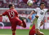 Football: German Bundesliga table