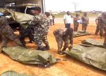 Bodies of 14 UN peacekeepers flown to Tanzania