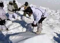 مقبوضہ کشمیر: بھارتی فوج دی چیک پوسٹ اُتے برفانی تودہ ڈِگ گیا،5فوجی لاپتہ