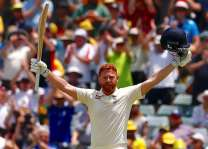 Bairstow hits emotional century for England