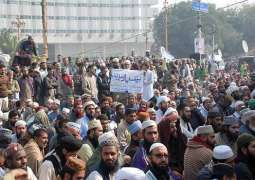 Punjab Govt, protesters in Lahore reach agreement to end Dharna