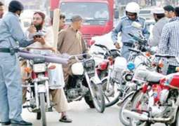 35,472 vehicles issued tickets, 15,220 bikes impounded