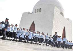 Guards mounting ceremony held at Mazar-e-Quaid
