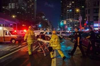 نیویارک: بس ٹرمینل وچ دھماکا' 31بندے زخمی' موتاں دا خدشہ