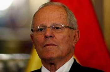 Peru president rejects demands he resign over corruption allegations