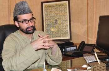 Mirwaiz hails OIC's call on Jerusalem, seeks same for Kashmir