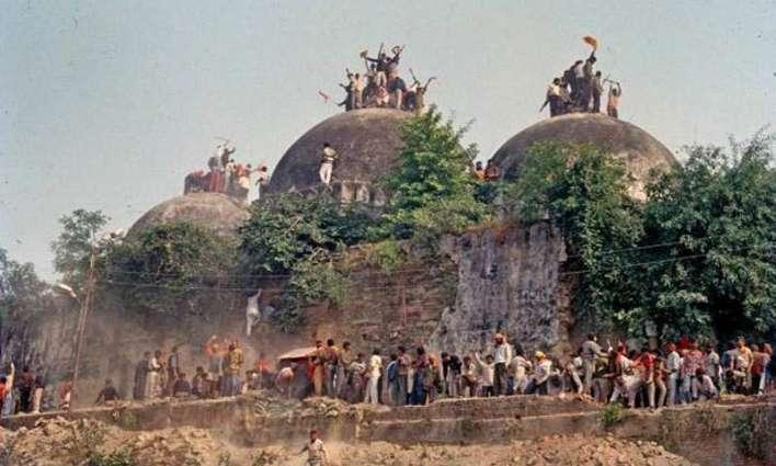 تریخی بابری مسجد دی شہادت کوں 25 سال پورے تھی گین