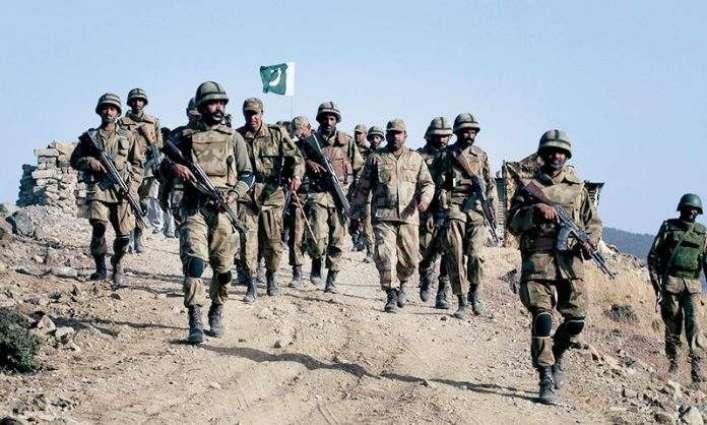 الجيش الباكستاني يعلن القضاء على إرهابيين مطلوبين في وداي