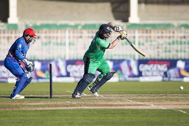 Cricket: Ireland post 271-9 against Afghanistan in 2nd ODI