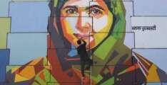 بھارت : کندھاں اُتے ملالہ دیاں تصویراں لگ گئیاں