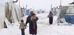 13 Syrians have died of cold fleeing to Lebanon, UN says