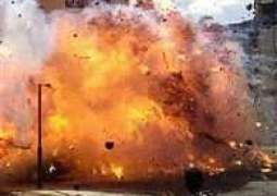 پشاور وچ بم دھماکا، کوئی جانی نقصان نہیں ہویا