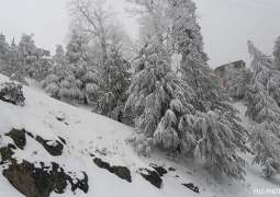 Work on development projects suspended owing to heavy snowfall