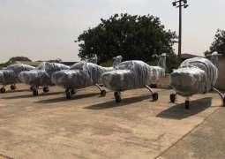 Nigeria completes Super Mushshak deliveries