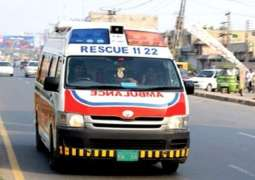 Two dead in Lahore road mishap