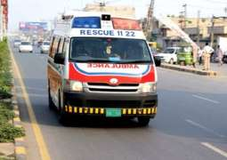 Two dead in Karachi dumper-bike collision