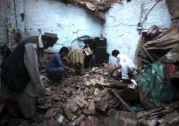 Woman dead, four injured in Peshawar roof collapse