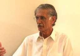 KP CM visits Asma's bereaved family in Mardan