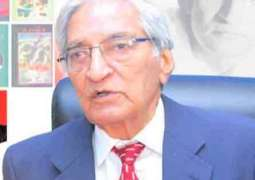 Speakers eulogize Mannu Bhai at condolence reference held at AIOU