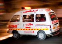 One dies, three injured in Karachi road mishap