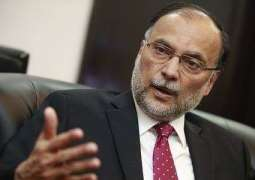 Provinces united, working as a team in CPEC management: Ahsan Iqbal