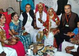 Dr Ramesh Vankwani terms 10th Combined Marriages Ceremony a great Success