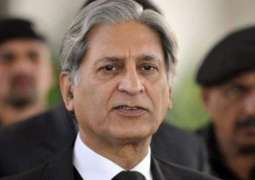 Only parliament has authority to amend disqualification law: Aitzaz Ahsan