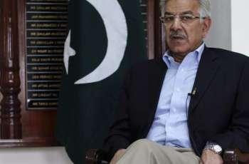 د پاكستان تحريك انصاف او پاكستان پيپلز ګوند اتحاد د اقتدار ترلاسه كولو له دې٬د خارجه وزير خواجه آصف نجي ټي وي چينل سره خبرې