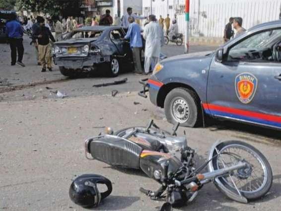 کوئٹہ کراچی قومی شاہراہ آ کار موٹر سائیکل سوار ءِ بچفنگ آکاربھلو کڑاسہ ٹی تما