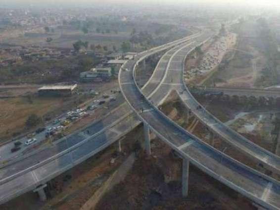 پی ٹی آئی دا میگا پراجیکٹ ٹُٹ بھج دا شکار: باب پشاور فلائی اوور وچ دراڑاں پے گئیاں