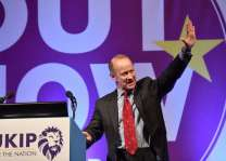 Crisis-hit UKIP decides fate of latest leader