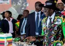 Subdued birthday for Zimbabwe's ousted Mugabe