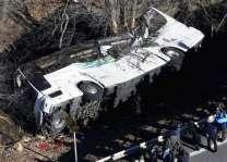 چین دے صوبہ جیانگشی اچ بس حادثہ اچ ہلاک تھیونڑ آلے بندیاں دی تعداد 11 تھی گئی