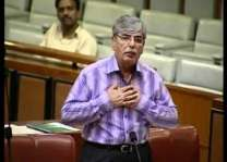 پاکستان اپنڑی سرزمین کہیں دے خلاف استعمال نہ تھیونڑ ڈیسی،سینیٹر الیاس بلور