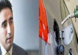 Bilawal Bhutto slams hike in petrol prices