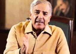 Sit-ins damaged journey of progress, prosperity of country: Shahbaz Sharif